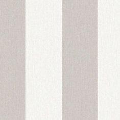 Calicot rayé Papier Peint Naturel