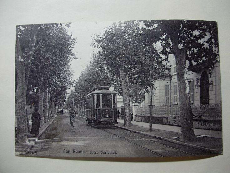 Tram in via Garibaldi  1910