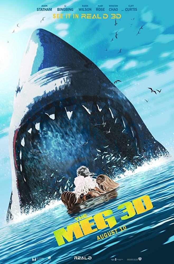 The Meg Megatubarao Meg Movie Movie Posters New Movie Posters