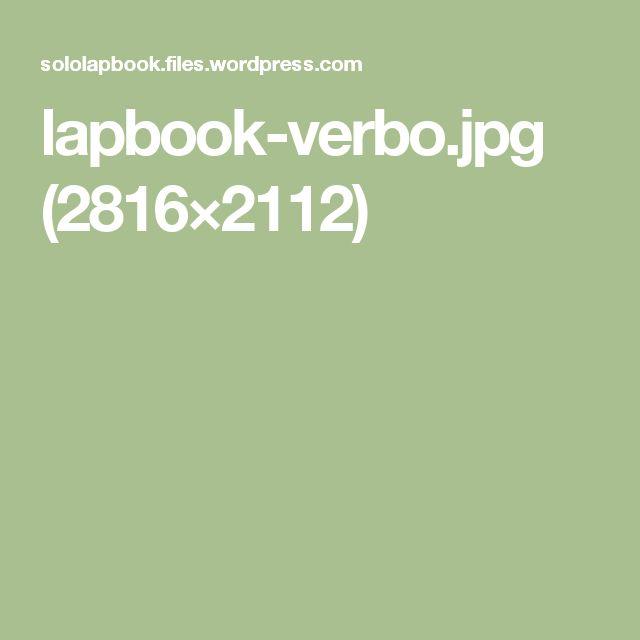 lapbook-verbo.jpg (2816×2112)