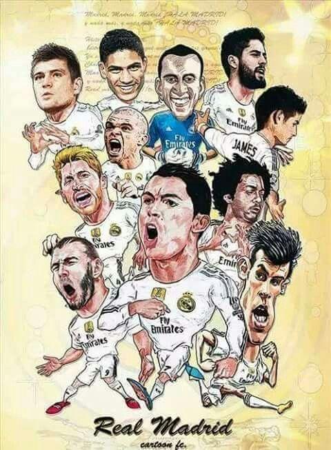 Dibujo del Real Madrid #RealMadrid