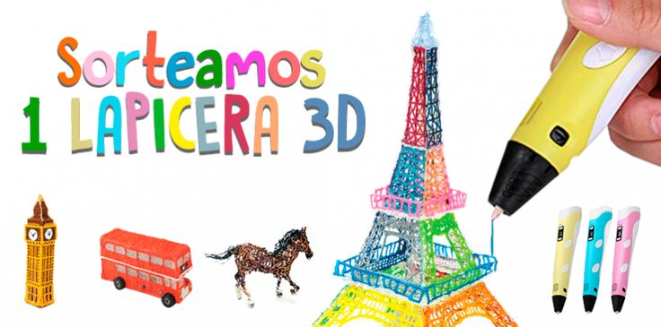 En este mes aniversario regalamos una lapicera 3D Sunlu 2.0