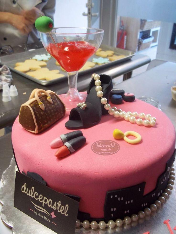 Fashion Cake Fondant Pastel Cake Desserts Cake Toppers