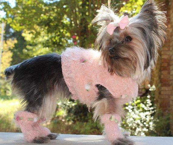 MY GIRL Original Fluffy Dog Sweater Custom by mysavannahcottage, $70.00