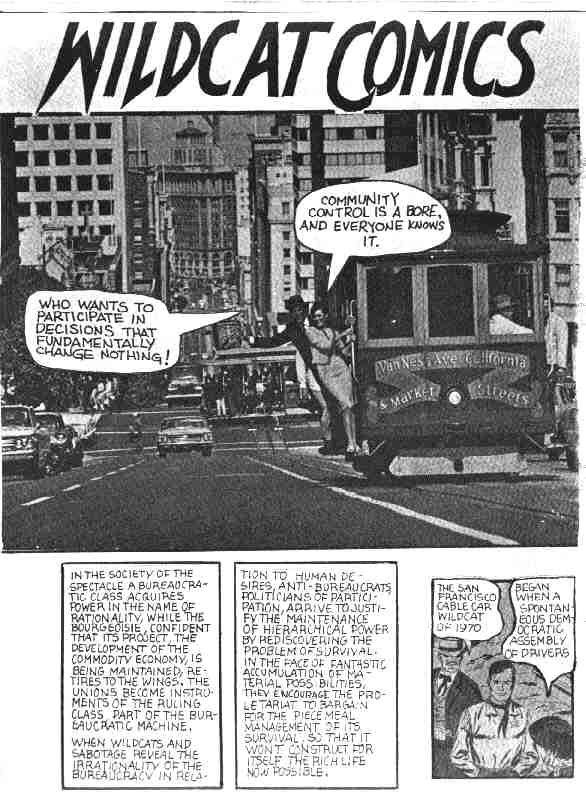 Wildcat Comics (1971) page1