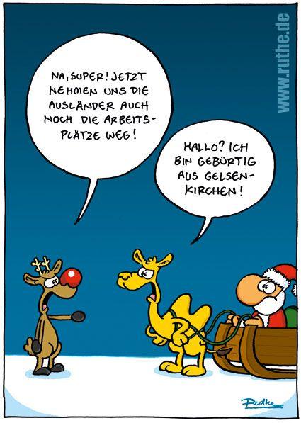 Ausl nder weihnachtsmann santa weihnachten rudolph rentier - Lustige schneebilder ...