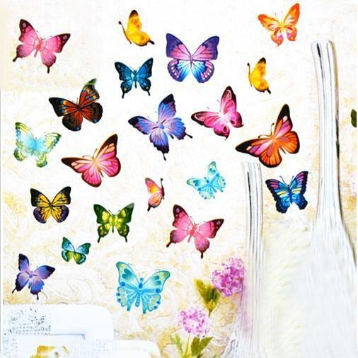 Best Butterfly Wall Stickers Ideas On Pinterest Butterfly - Wall decals butterfliespatterned butterfly wall decal vinyl butterfly wall decor