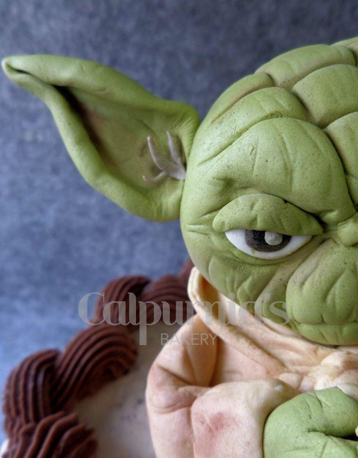 Star Wars Yoda fondant