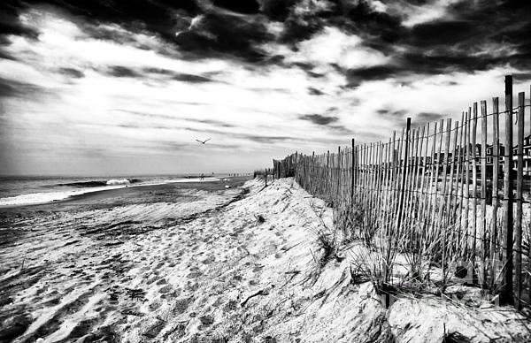 Beach Side Cape May Photograph by John Rizzuto
