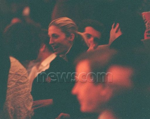This was a bit of a surprise. I don't think Carolyn used to attend sporting events with John (he had season Knicks tickets), but she did date the hockey player John Cullen, so perhaps she en…