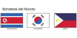 Resultado de imagen para banderas del mundo con sus nombres