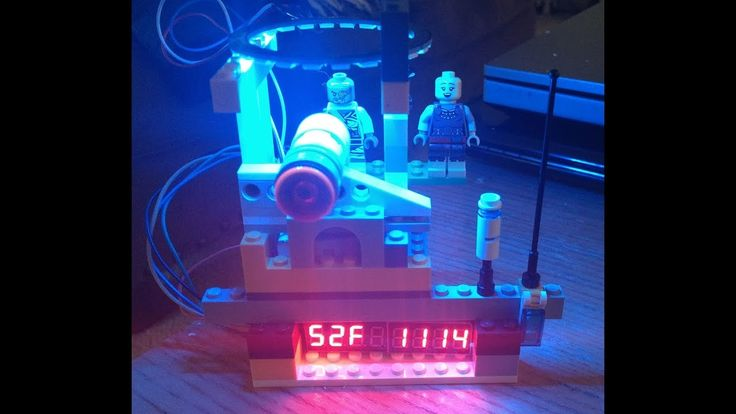 ESP8266 Arduino LCD NeoPixel Ring Time and Temp
