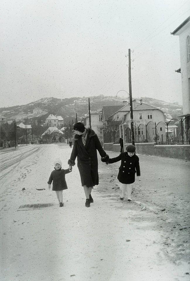 Kelemen László (Hadapród) utca , 1933-ban a Pasaréti tér felé nézve