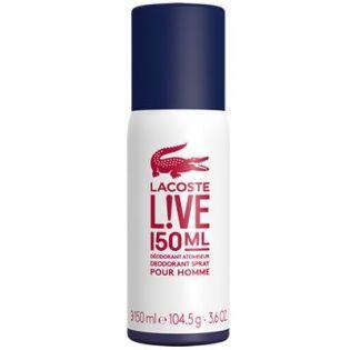Lacoste Live Deodorant Spray 150 ml - Erkek Deodorant #parfüm #alışveriş #indirim #trendylodi #moda #style #aksesuar #erkekparfümü #kozmetik #bakım