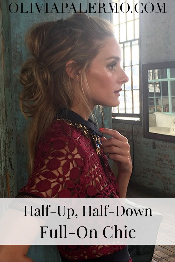 We promise: You will not feel 12 in this hairstyle.