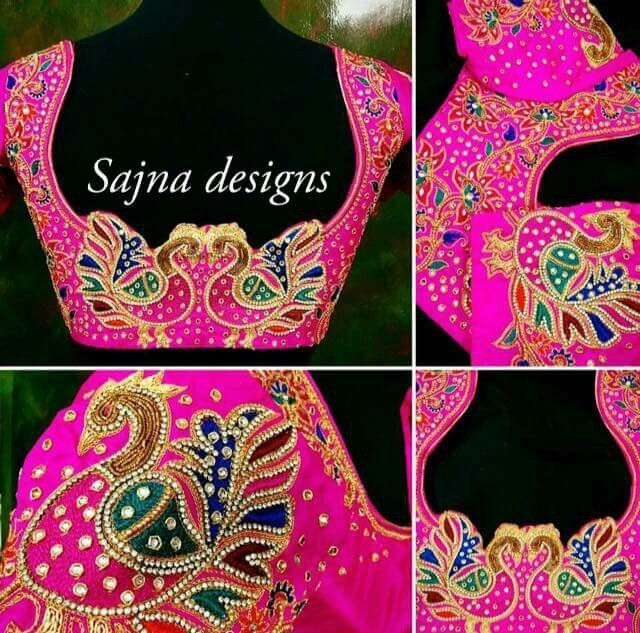 Best images about blouses hand embroidered on