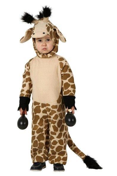 El disfraz de jirafa infantil, incluye Mono con gorro en DisfracesMimo.com