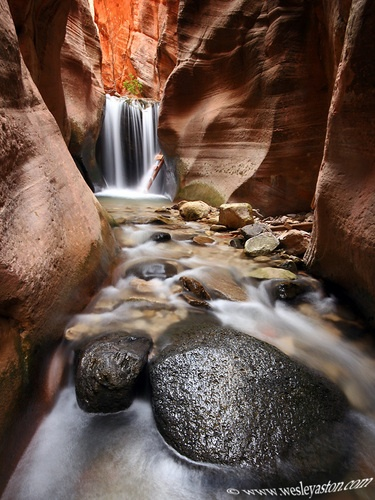 Waterfall Canyon Winter Hike Ogden Ut