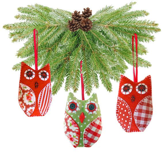 Christmas Tree Decoration Owl : Best ideas about owl christmas tree on