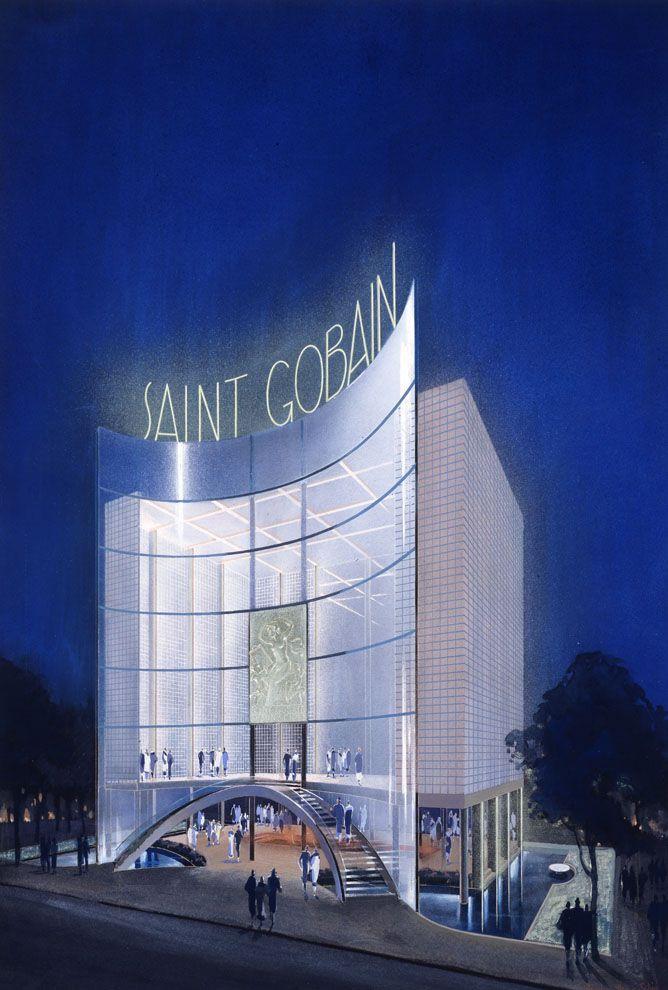 Pavillon de Saint-Gobain...   #SaintGobain350