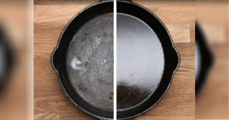 I Had No Idea This Was The Only Way You're Supposed To Clean Cast Iron. Did You Know Too? – AWM