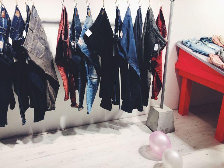ATT Jeans, Showroom, Duesseldorf. Motorrad, Bike, Onlineshop Release, Party, ElisaZunder, Denim, Streetwear, Fashion, Streetstyle