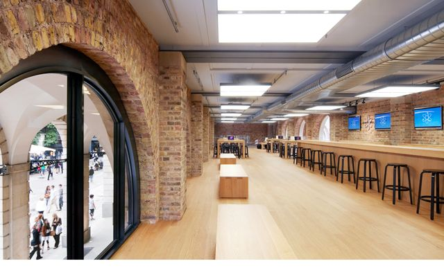 Apple Retail Store - Covent Garden, London, UK.