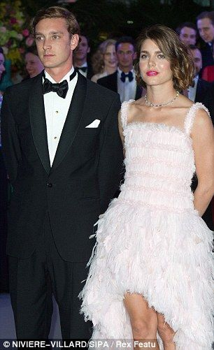 Brother and sister Andrea and Charlotte Casiraghi of Monaco, 2 of Princess Caroline of Monaco's children and grandchildren of Princess Grace Kelly