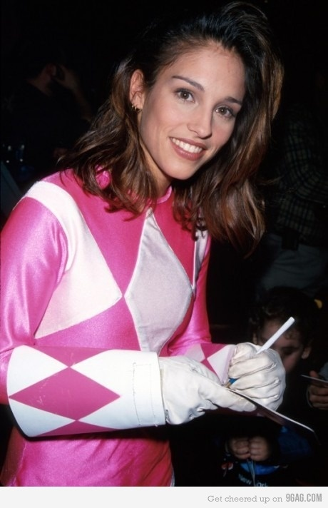 Kimberly from the pOWER RANGERS   IT'S MORPHIN' TIME ...