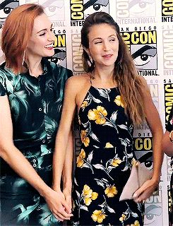 """wayhaughtshipper: """" Dom: """"That's amazing. Congratulations, babe."""" Kat: """"That is awesome. Congrats, honey."""" - After finding out WayHaught won Pure Fandom's Best Ship (x) """""""
