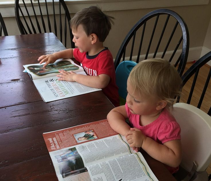 Reading WORLD is a family affair/Submitted by Rachel Shafer