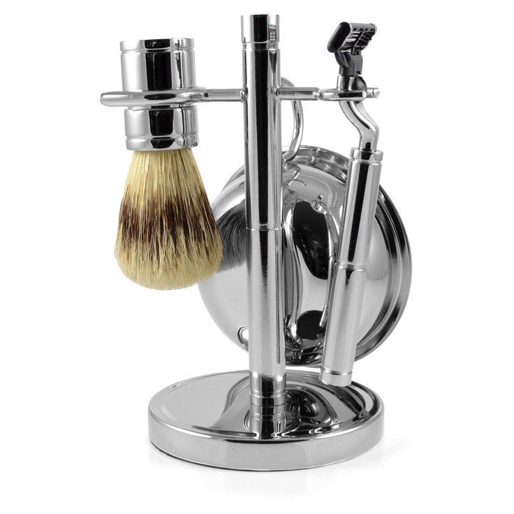 Krom Komplet Barbersæt - 895,00kr