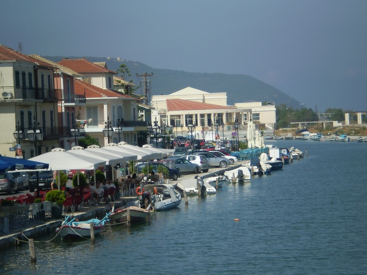 Town of Lefkada, Greece