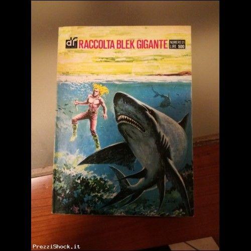 Raccolta Blek Gigante N°21 Anni 70