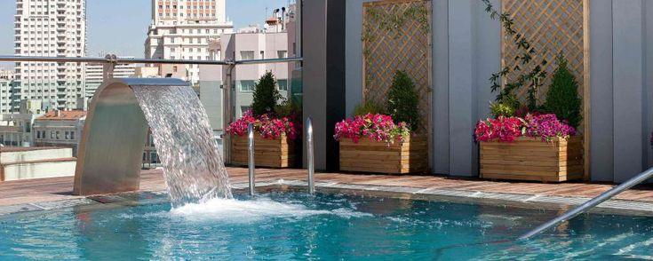 Hotel Santo Domingo Madrid. El spa de la azotea. San Bernardo 1 (San Bernardo). T. 91 547 98 00