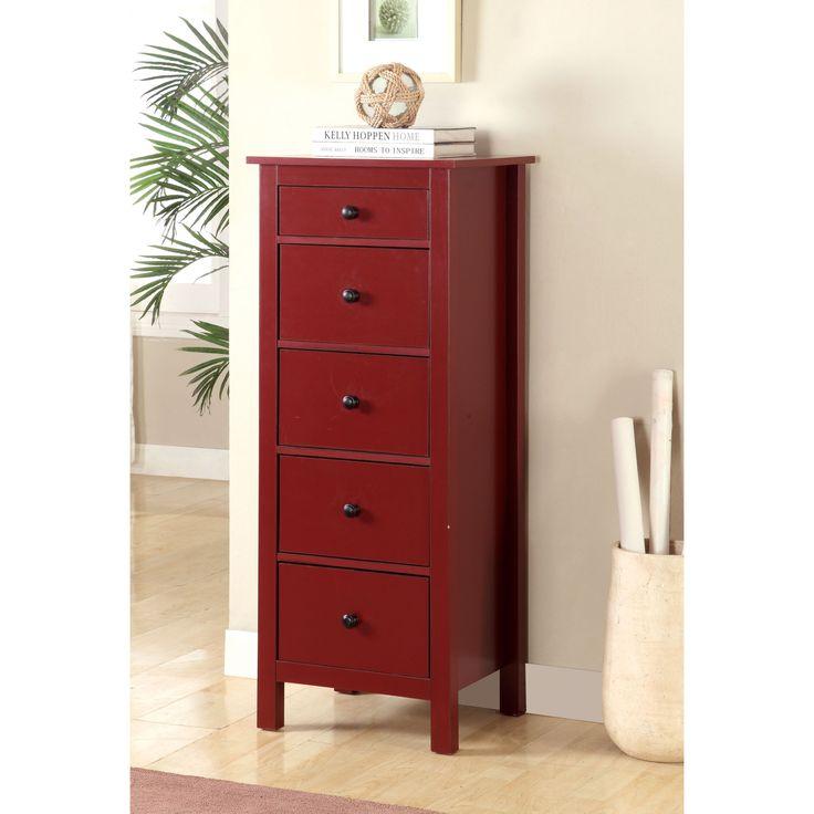 Furniture of America Arienth 5-Drawer Storage Chest