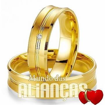Alianças em ouro 18k 750 para noivado e casamento  Por: R$ 1.688,00  http://www.mundodasaliancas.com.br/