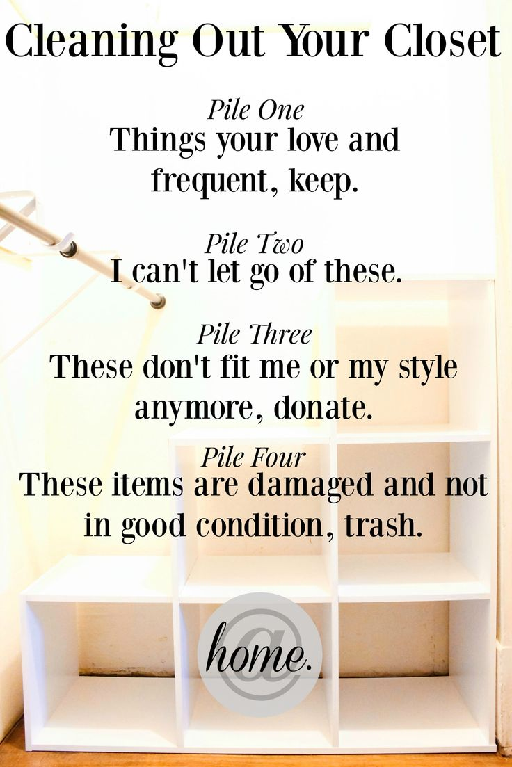 17 best images about housekeeping at home organization on - Cleaning out your closet ...