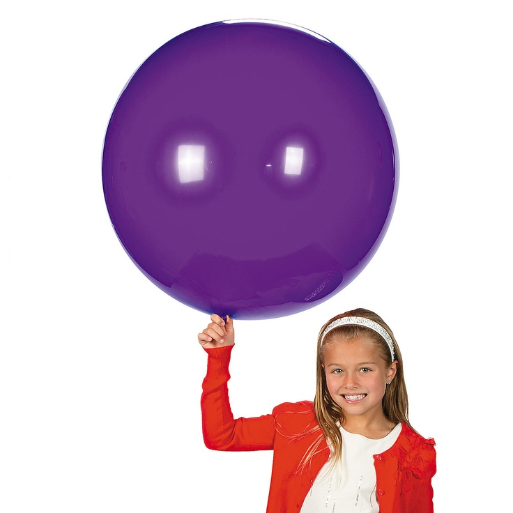 Violet Round Latex Balloons - 36 - OrientalTrading.com