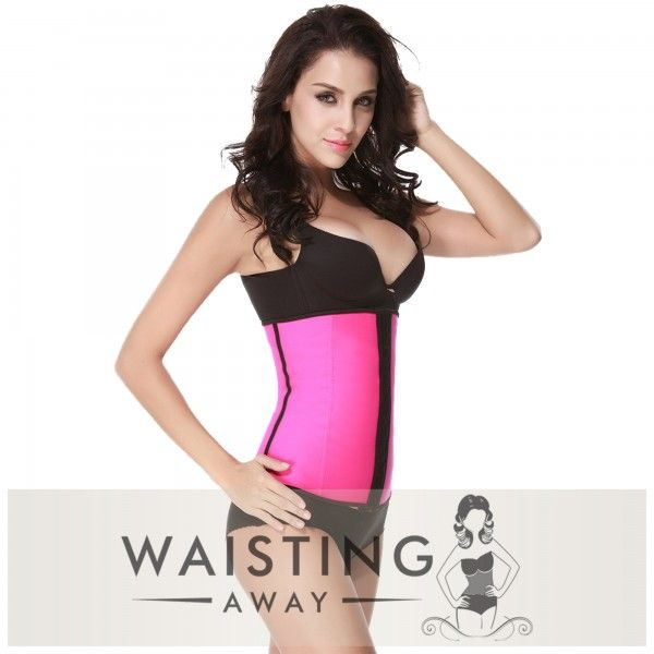 GET YOUR BODY BACK, Our High-Quality Pink Underbust Latex Waist Trainer provides the maximum support and comfort, while giving sexy curves and the perfect waistline.