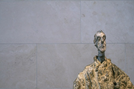 Alberto Giacometti's sculpture of his brother Diego.