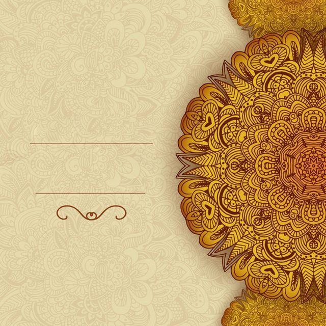 Iftar Meet Wedding Invitation Background Vector