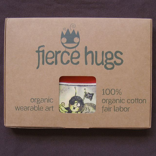 Organic Baby Clothes - Cool Packaging | Flickr - Photo Sharing!