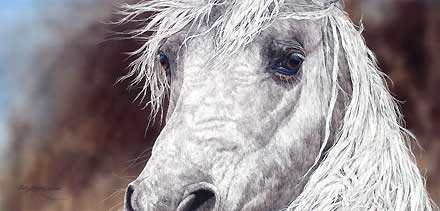 The Gift - Judy Larson - World-Wide-Art.com - $545.00 #JudyLarson #Horses