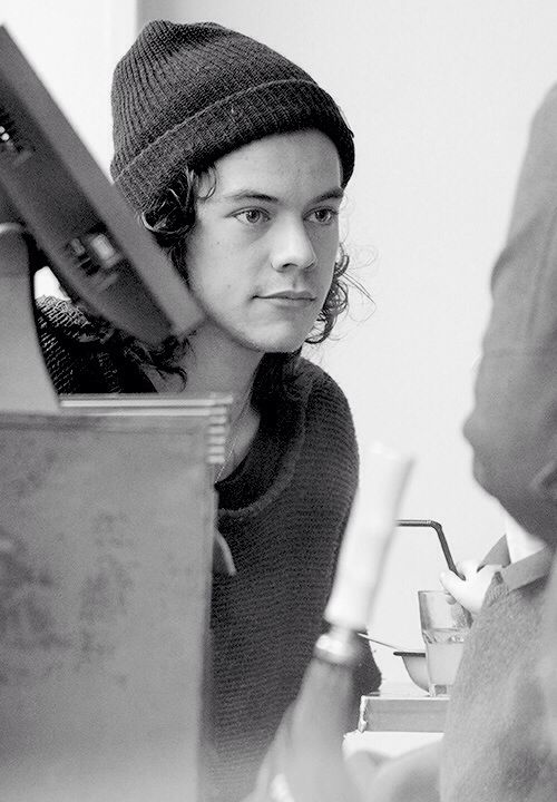 Harry in a beanie :)) yes, you lookin good See more at http://www.spikesgirls.com