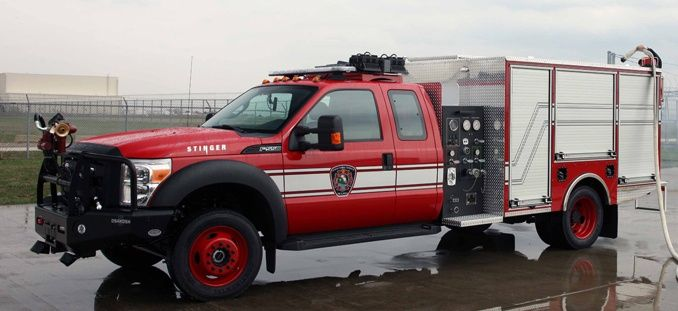 To design the industry-leading rapid intervention vehicle, Oshkosh Corporation combined the Oshkosh and Pierce engineering and product development teams – the finest in the firefighting industry. The result is the Oshkosh Stinger rapid intervention vehicle.