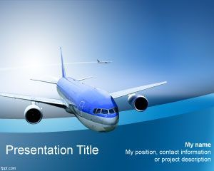 11 best transportation powerpoint templates images on pinterest airline powerpoint template is a high quality presentation theme for powerpoint that you can download for toneelgroepblik