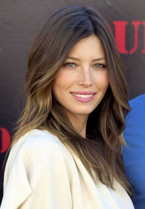 Jessica Biel Messy Hairstyles For Medium Haircut Styles Hairstyles