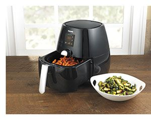 Product Review; Philips Digital Air Fryer at CHEFScatalog.com blog CHEFSmix