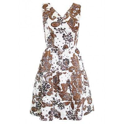 Šaty s volánovou sukní